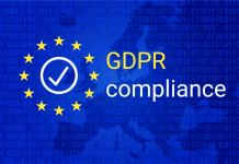 GDPR compliance with EU stars