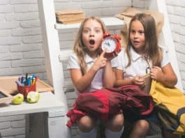 Children late for school
