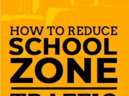 how to reduce school traffic congestion